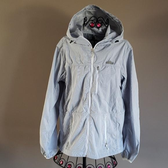 cfad0cb8f76 Madewell Penfield Inuvik Blue Stripe Parka Jacket